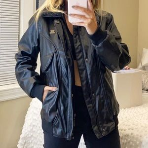 Emporio & Co Leather Jacket